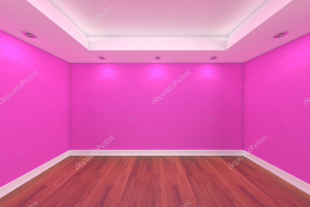 首页室内 3d 渲染与空房间装饰用的木地板— photo by sumetho