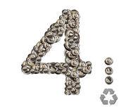 Alphabet 4 — Stock Photo
