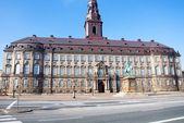 Christiansborg Palace, Copenhagen, Denmark — Stock Photo