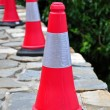 Stock Photo: Traffic cones