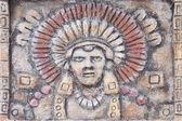 Painting of maya — Stock Photo