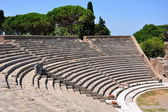 Ancient theater in Ostia Antica — Stock Photo