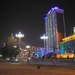 Heihe Night Cityscape — Stock Photo