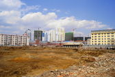 Heihe Under Construction — Stock Photo