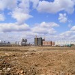 Stock Photo: Heihe (China). empty arefor development