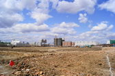 Heihe (China). The empty area for development — Stock Photo