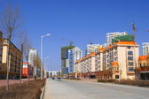 Heihe (China). New Residential Area — Stock Photo