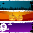 Halloween themes — Stock Vector