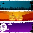 Stock Vector: Halloween themes
