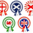 Royalty-Free Stock Vector Image: United Kingdom Rosettes