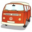 Stock Vector: Campervan