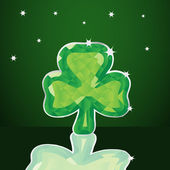 St Patricks Day Shamrock — Stock Vector