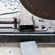 Foto de Stock  : Electric circular saw for metal cutting