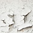 Stock Photo: Old cracked paint on concrete wall