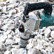 Hammer drill for boring concrete — Stok fotoğraf