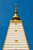 Bodhgaya-style stupa in Thailand — Stock Photo
