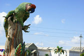 Statue d'ara en equateur — Photo