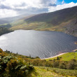 Guinness Lake in Wicklow Mountains  Ireland — Stock Photo