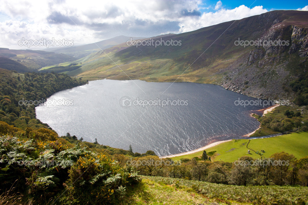 Guinness Lake in Wicklow Mountains  Ireland — Stock Photo #10356741