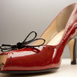 High Heeled Red Shoe — Stock Photo