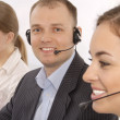Stock Photo: Group portrait of customer service representatives