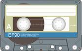 Ljudband illustration — Stockfoto