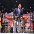 LVIL, UKRAINE - June 3: Wynton Marsalis and Igor Butman Quartet — Stock Photo #9708043