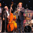 LVIL, UKRAINE - June 3: Wynton Marsalis and Igor Butman Quartet - Stock Photo