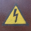Royalty-Free Stock Photo: High voltage sign