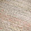 Royalty-Free Stock Photo: High new brick wall texture background