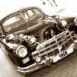Vintage car (sepia) — Stock Photo