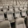 The rows of an empty seats (cinema, theatre, conference, concert — Stock Photo