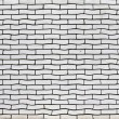 Uneven white brick wall texture — Stock Photo