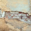 Cracked grunge stucco wall background — Stock Photo