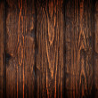 Wooden door background - Stock Photo
