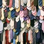 Male neck ties — Stock Photo