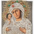 Stock Photo: Madonn(Mary) of Jerusalem and child (Jesus Christ) icon