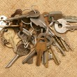 Stock Photo: Old keys