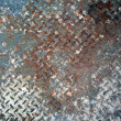 Stock Photo: Old metal plate texture