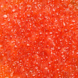 Red caviar texture - Stock Photo