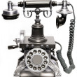 Royalty-Free Stock Photo: Vintage phone isolated