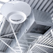 Ventilation pipes of an air condition — Stock Photo #9713335