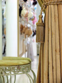 Woman underwear shop (dressing-room) — Stock Photo