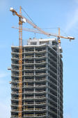 Highrise Building Construction Site — Stock Photo