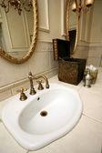 Banheiro vintage — Fotografia Stock