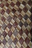 Acacia pods natural texture background (squares) — Stock Photo