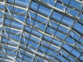 Atrium in a modern business center — Stock Photo
