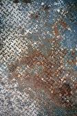 Fondo de chapa pintada oxidado — Foto de Stock