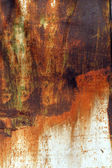 Rusted abstract painted metal plate — Stock Photo