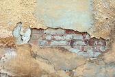 Incrinato sfondo muro di grunge stucchi — Foto Stock